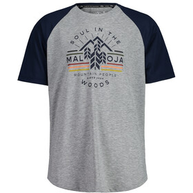 Maloja BlaubeereM. Short Sleeve Multisport Jersey Men, night sky multi